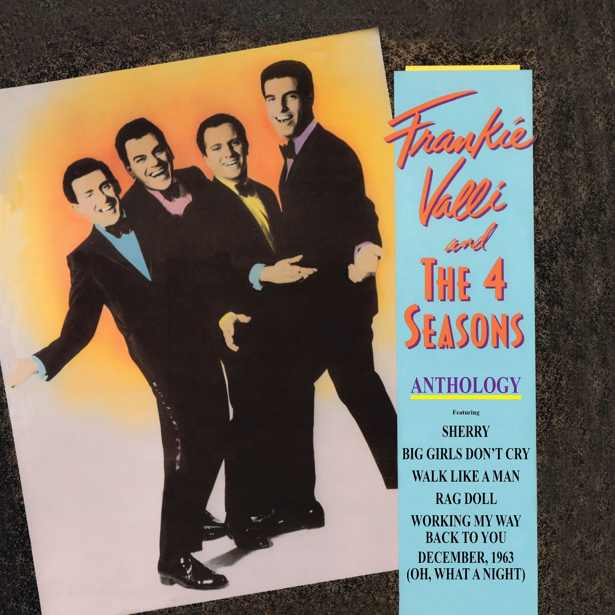 Frankie Valli & The 4 Seasons - Anthology-Greatest Hits (180 Gram Audiophile Vinyl/Limited Anniversary Edition/Gatefold Cover)