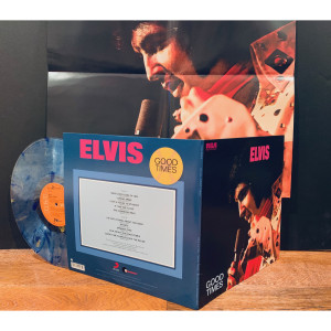 Elvis Presley - Good Times (180 Gram Gold & Blue Swirl Vinyl / Limited Edition / Gatefold Cover & Poster)