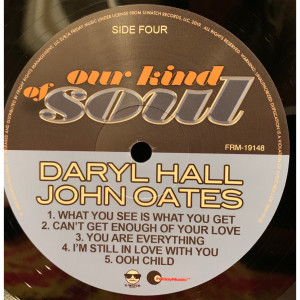 Daryl Hall & John Oates - Our Kind Of Soul (180 Gram Audiophile Vinyl/Limited Edition/Gatefold Cover)