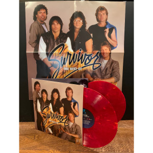 The Best Of Survivor-Greatest Hits (180 Gram Orange & Red Swirl Audiophile Vinyl/Limited Halloween Edition/Gatefold Cover & Poster)