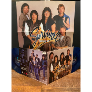 Survivor - The Best of Survivor - Greatest Hits (180 Gram Blue & Black Swirl Audiophile Vinyl/Limited Edition/Gatefold Cover & Poster)