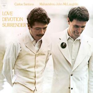 Carlos Santana & John McLaughlin - Love Devotion Surrender (180 Gram Translucent Gold & Red Swirl Audiophile Vinyl/Limited Anniversary Edition/Gatefold Cover)
