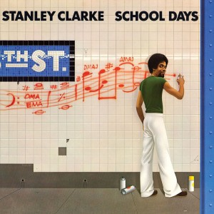 Stanley Clarke - School Days (180 Gram Translucent Golden Yellow & Blue Swirl Audiophile Vinyl/Limited Anniversary Edition/Gatefold Cover)