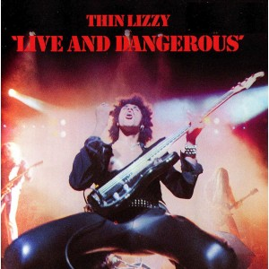 Thin Lizzy - Live and Dangerous (180 Gram Audiophile Vinyl)