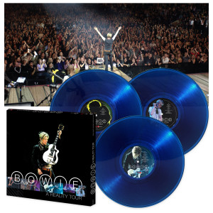 David Bowie: A Reality Tour (180 Gram Audiophile Translucent Blue Vinyl/Limited Edition/3 LP Box Set)