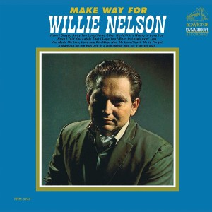Willie Nelson - Make Way For Willie Translucent Gold & Blue Swirl LP