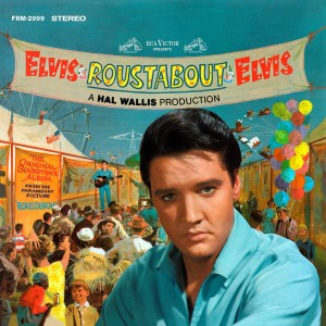 Elvis Presley - Roustabout Translucent Orange LP