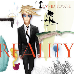 David Bowie - REALITY (180 GRAM TRANSLUCENT GOLD & BLUE SWIRL AUDIOPHILE VINYL) LP