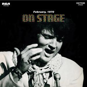 ELVIS PRESLEY - ON STAGE - FEBRUARY 1970 180 GRAM AUDIOPHILE BLACK & BLUE SWIRL LP