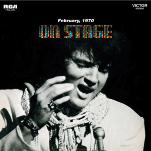 ELVIS PRESLEY - ON STAGE - FEBRUARY 1970 180 GRAM AUDIOPHILE BLACK & BLUE SWIRL LP