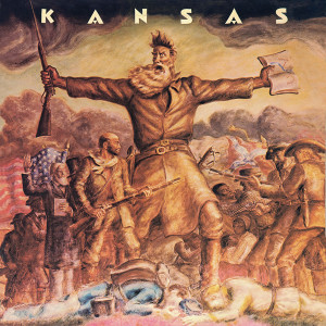 KANSAS - KANSAS 180 GRAM TRANSLUCENT GOLD & BLUE SWIRL LP