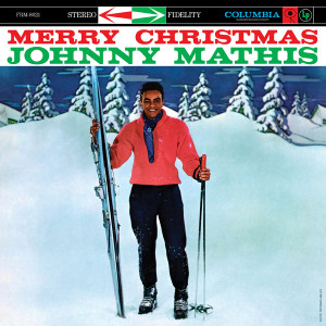 JOHNNY MATHIS - MERRY CHRISTMAS 180 GRAM TRANSLUCENT BLUE LP