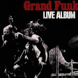 GRAND FUNK RAILROAD - LIVE ALBUM LP