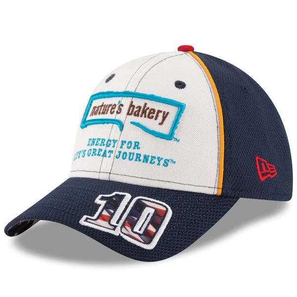 Danica Patrick #10 Natures Bakery American Salute 9FORTY Adjustable Hat
