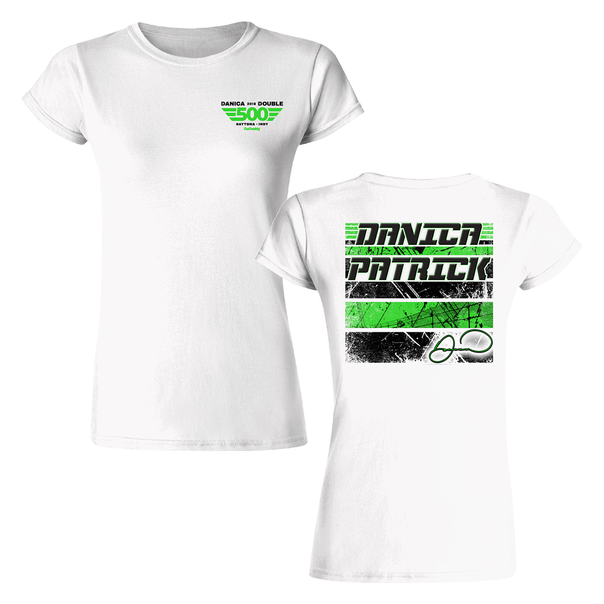 Danica Patrick 2018 Danica Double Ladies T-shirt
