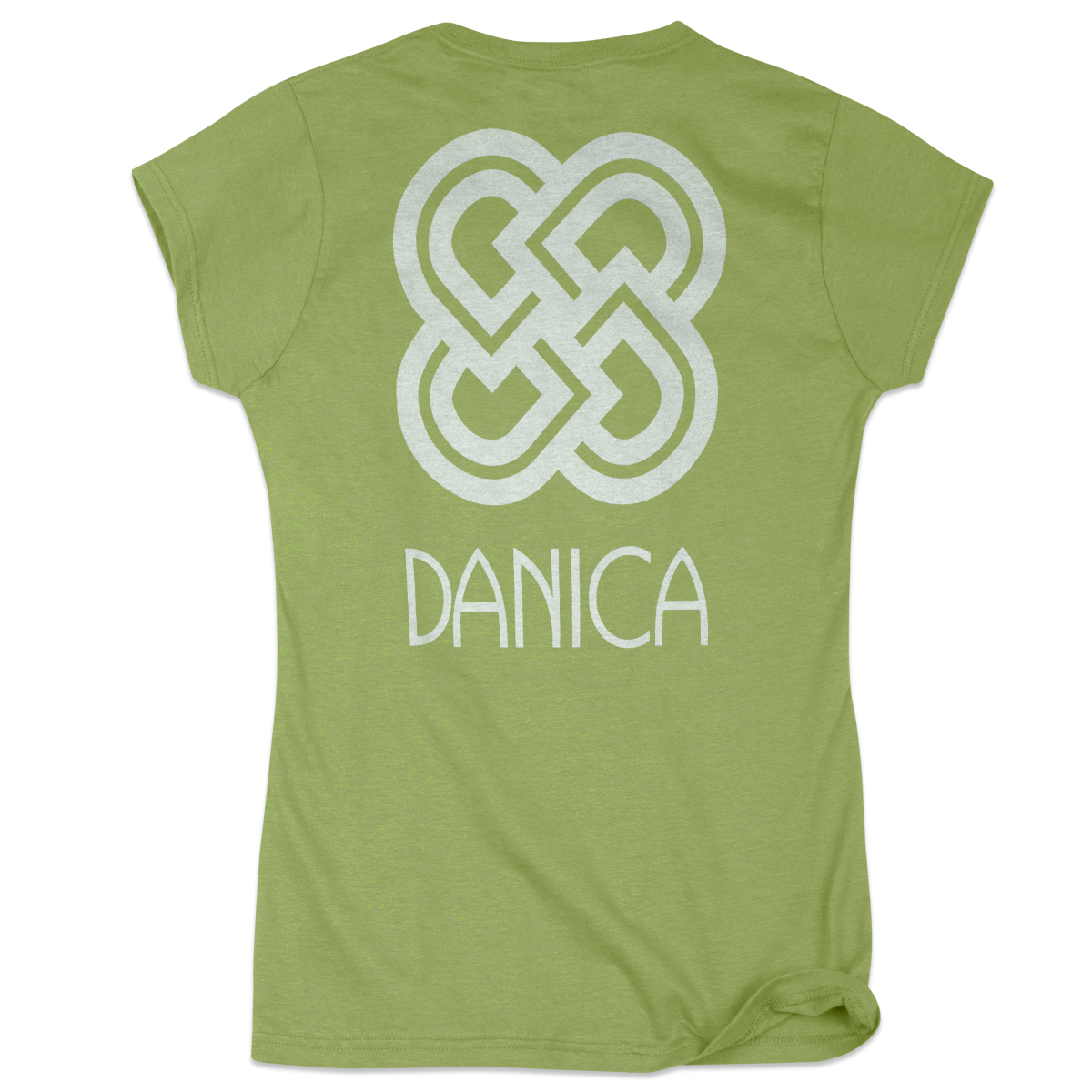 Danica Patrick Symbol Ladies T-shirt