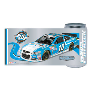 Danica Patrick #10 Chrome Can Glass Tumbler