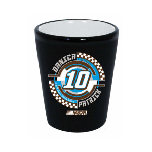 Danica Patrick #10 2oz. Ceramic Collector Glass