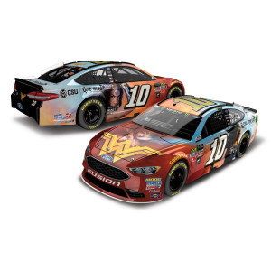 Danica Patrick 2017 #10 Wonder Woman One Cure 1:24 Scale Monster Energy NASCAR Cup Series Die-Cast