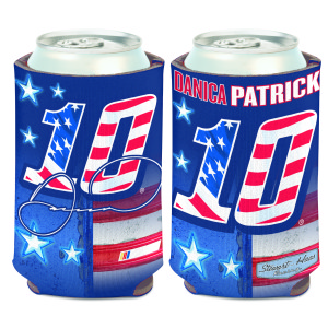 Danica Patrick #10 Patriotic Can Cooler - 12oz