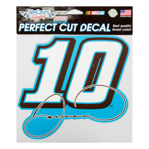 Danica Patrick #10 Car Perfect Cut Color Decal