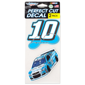 Danica Patrick Perfect Cut Color Decal Set Of 2