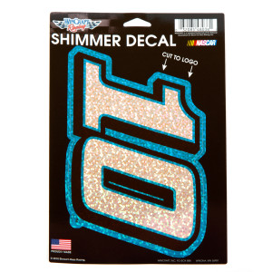Danica Patrick #10 Car Shimmer Decals