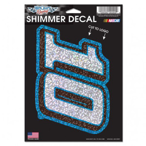 "Danica Patrick Shimmer Decal - 5"" x 7"""