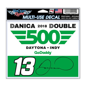 "Danica Double Multi-Use Decal - 5"" x 6"""