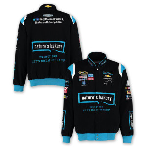 Danica Patrick #10 Natures Bakery Cotton Twill Driver Jacket