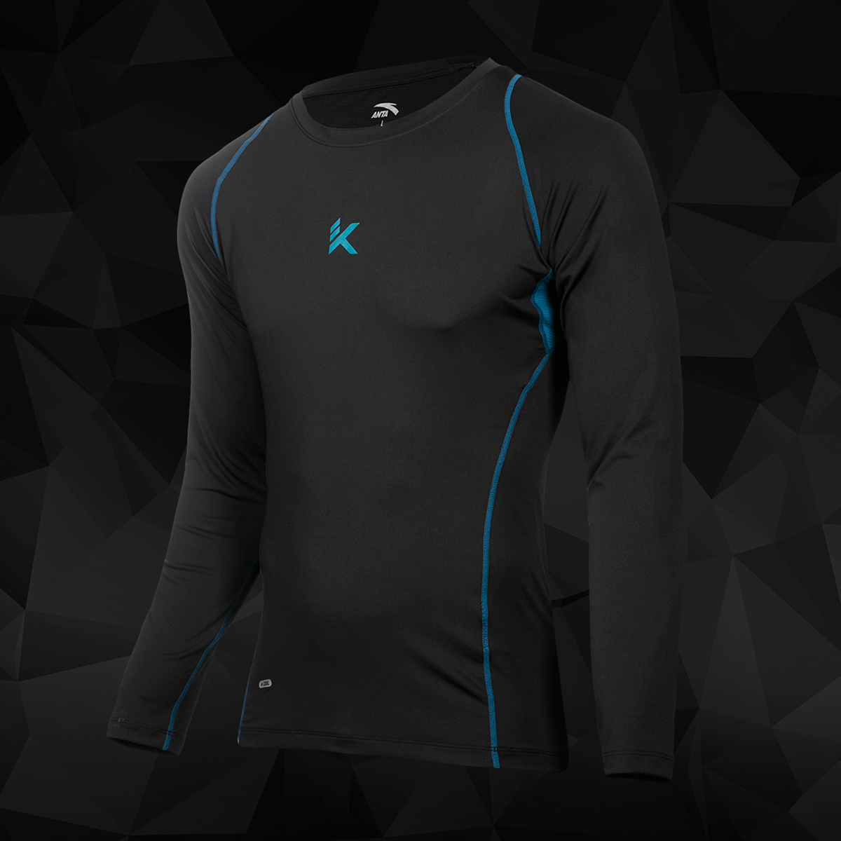 ANTA KT Long Sleeve Compression T-Shirt