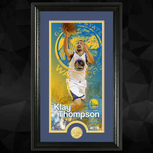 Klay Thompson Supreme Bronze Coin Photo Mint