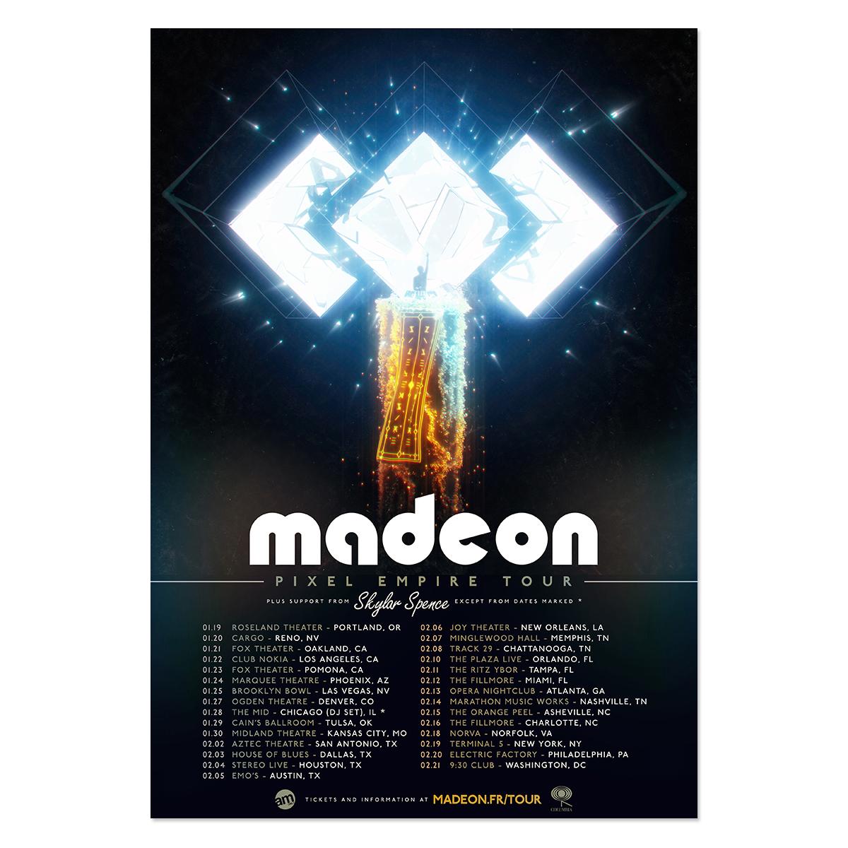 Pixel Empire Tour Poster