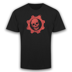 Gears of War Large Red Omen T-Shirt