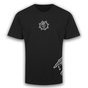 Gears of War Lancer and Gnasher T-Shirt