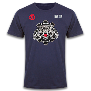 Gears of War Cole Thrashball Jersey T-Shirt
