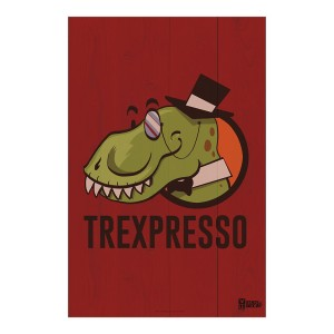 State of Decay Trexpresso Wood Sign