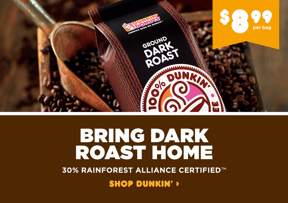 Bring Dark Roast Home