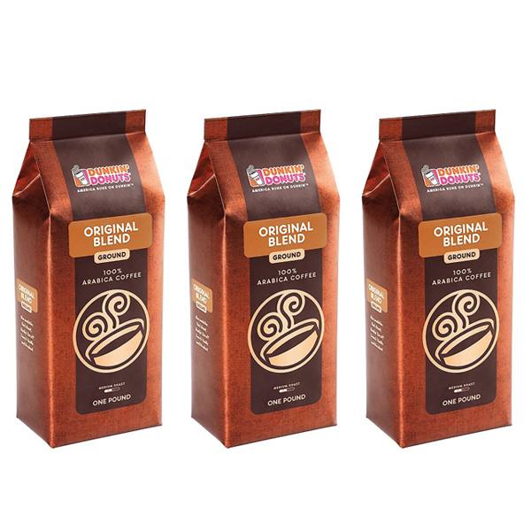 Original Blend Ground Coffee, 1 lb. (Pack of 3)