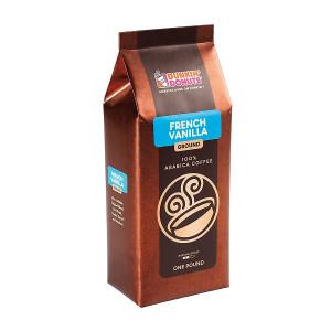 French Vanilla Ground Coffee, 1 lb.
