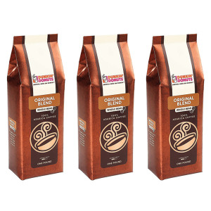 Original Blend Whole Bean Coffee, 1 lb. (Pack of 3)