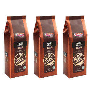 Dark Roast Ground Coffee, 1 Lb. (Pack Of 3)