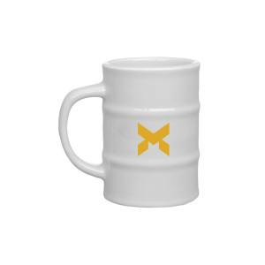 Monarch Solutions Oil Drum 12oz. Mug