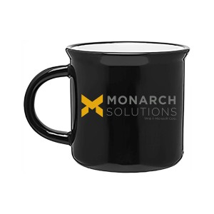 Monarch Solutions 15oz. Mug - Black
