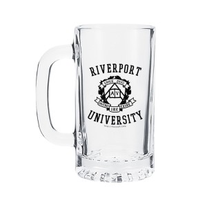 Riverport University 16oz. Glass Mug