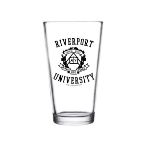 Riverport University Pint Glass