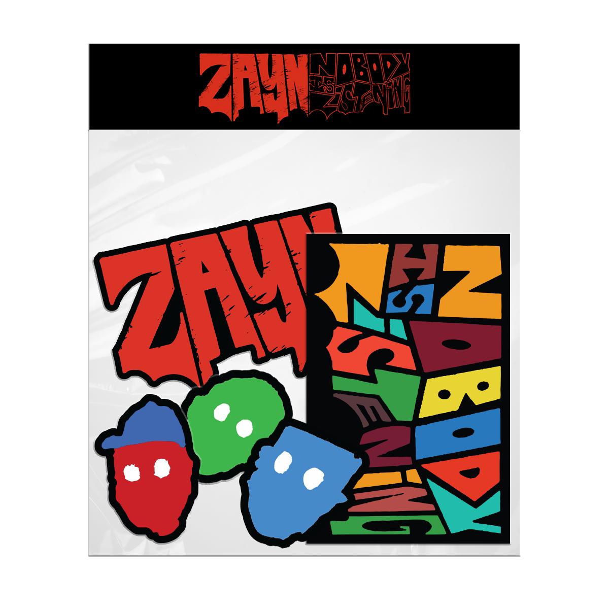 NIL Sticker Set