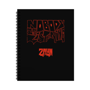 NIL Red Notebook