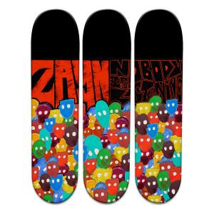 NIL Skateboard Art