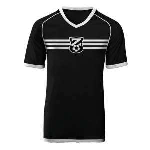 Black and White Jersey